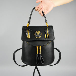 New Stylish Retro Quality Leather Personalized Ladies Bag