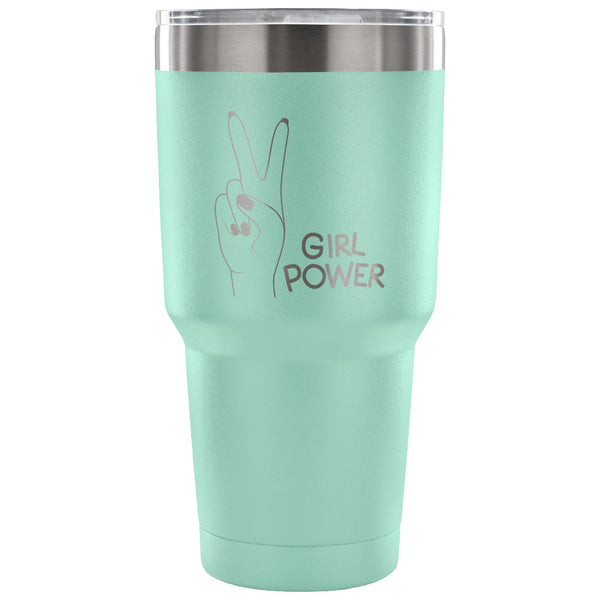 Girl Power 30 oz Tumbler - Travel Cup, Coffee Mug