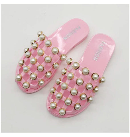 New Sexy Summer Beach/Home Pearl Sandals