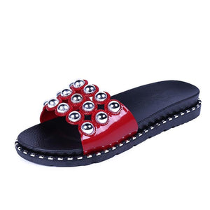 New Stylish Checkered Women Slippers