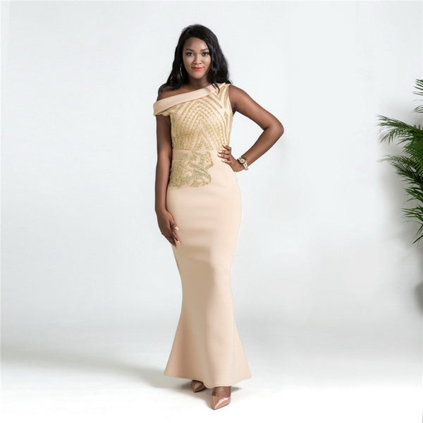 Top Afro High-end Fishtail Dress