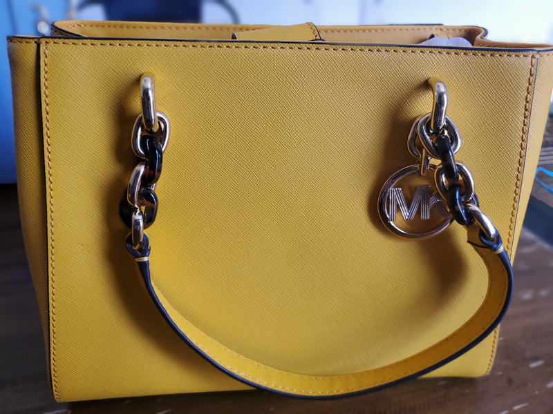 Michael Kors Mott Sunshine LG Clutch