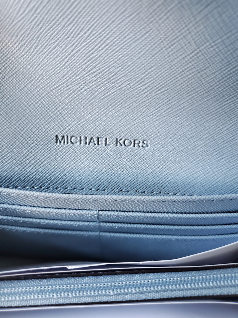LG carryall wallet(Michael Kors)(powder blue)
