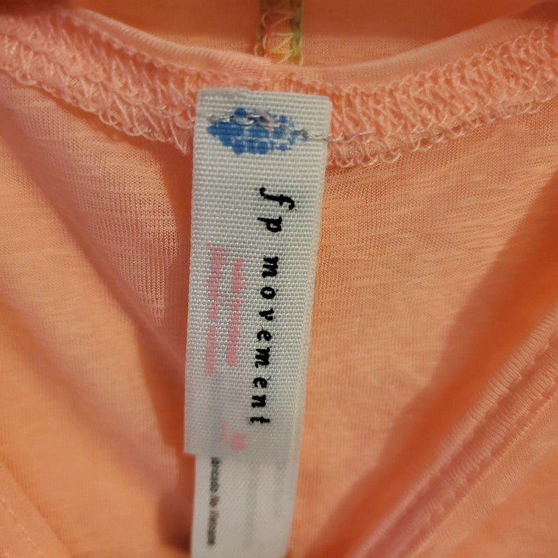 Free People Movement Active Top Pink Large