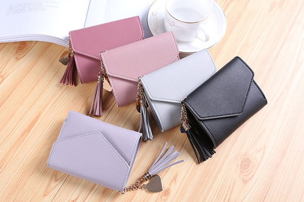Mini Tassel Wallets
