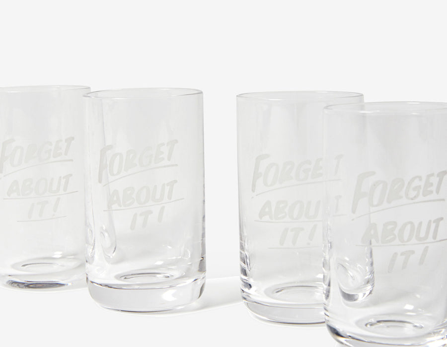 Forget About It! Shot Glasses, Set of 6