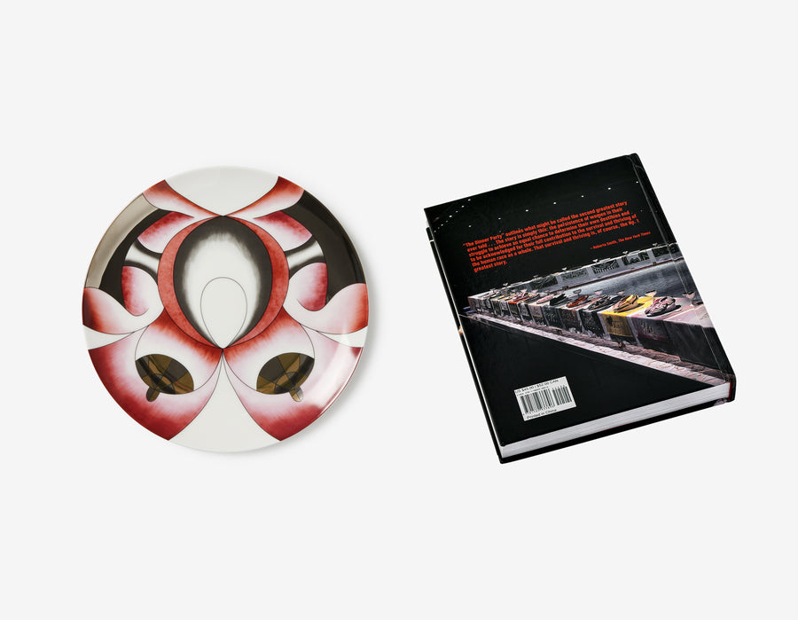 Judy Chicago's Amazon Dinner Plate + The Dinner Party Book
