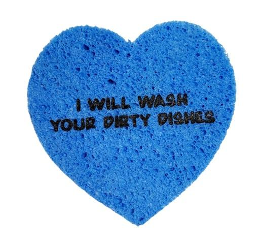 I Will Wash Your Dirty Dishes Sponge