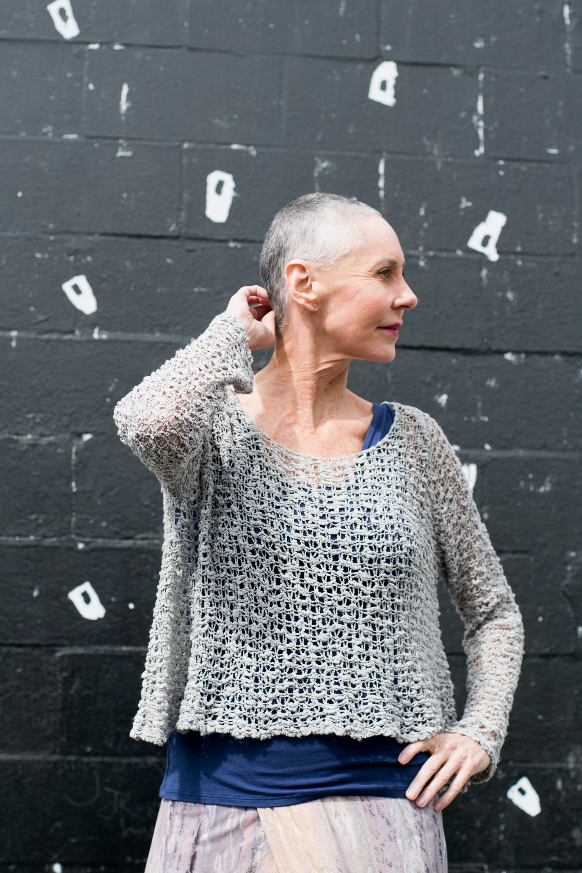 'Soul Warmer' Crocheted Sweater | Hands to Hearts