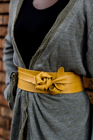 Leather Wrap Belt | Ada Collections