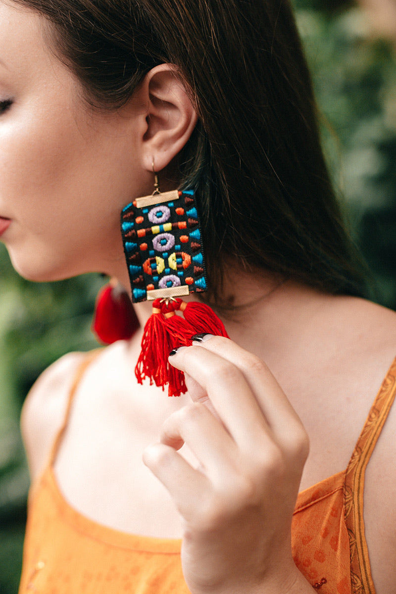 Handcrafted Guatemalan Earrings