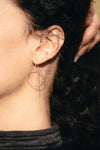 Drop Circle Earrings | designed by Lotus