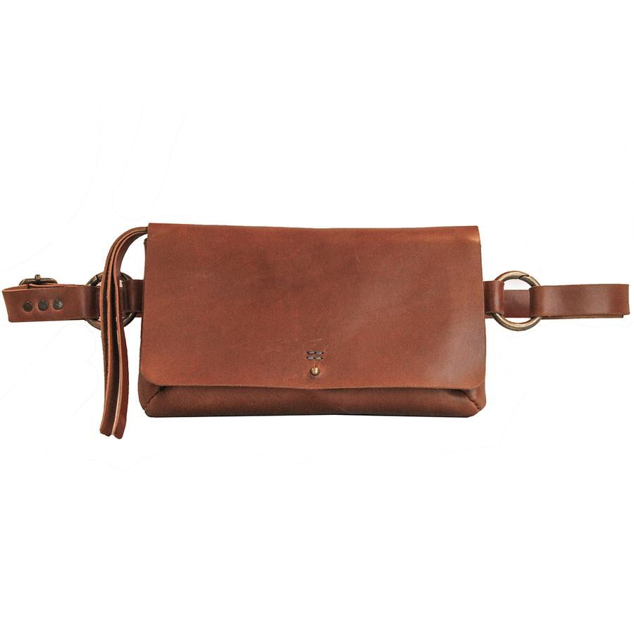 AMELIA HANDMADE LEATHER SLING BAG | BELT BAG | CLUTCH | by Embrazio