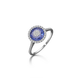 7mm,Round,Blue Fusion Sapphire