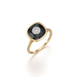 10mm,Cushion,Black Onyx