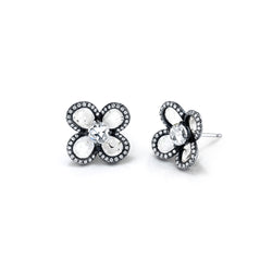 GRACE Collection Four Petal Earring