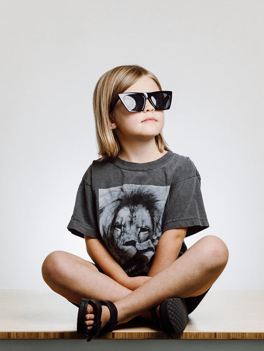 KID'S LION TEE - new
