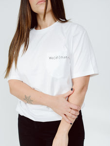 WO[AH]MAN POCKET TEE
