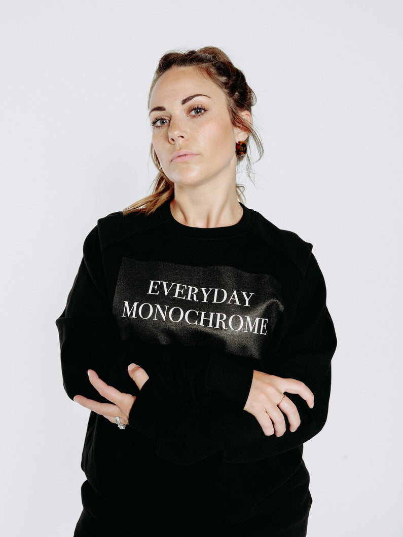 EVERYDAY MONOCHROME SWEATSHIRT