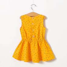 "Load image into Gallery viewer, ""Glamour Yellow"" baby dress"