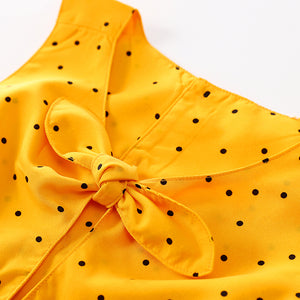 """Glamour Yellow"" baby dress"