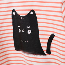 "Load image into Gallery viewer, ""Chic Cat"" shirt and pant"
