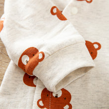 "Load image into Gallery viewer, ""Amore Teddy"" baby romper"