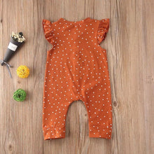 Load image into Gallery viewer, Emily polka dot baby romper