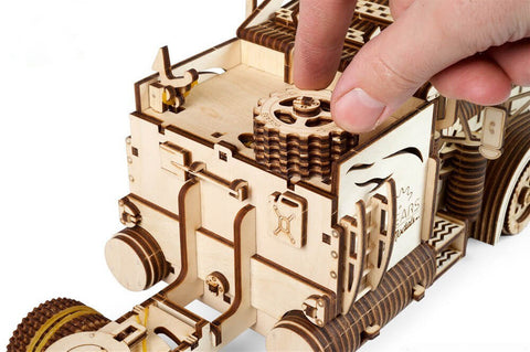 Wooden Truck Model kit for adults Mechanical Puzzle