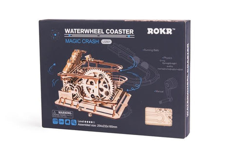 The Waterwheel Coaster Marble Run