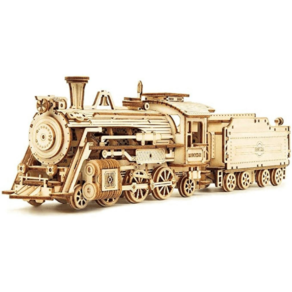 1:80 Scale Model Series: 3D Steam Train with Tender