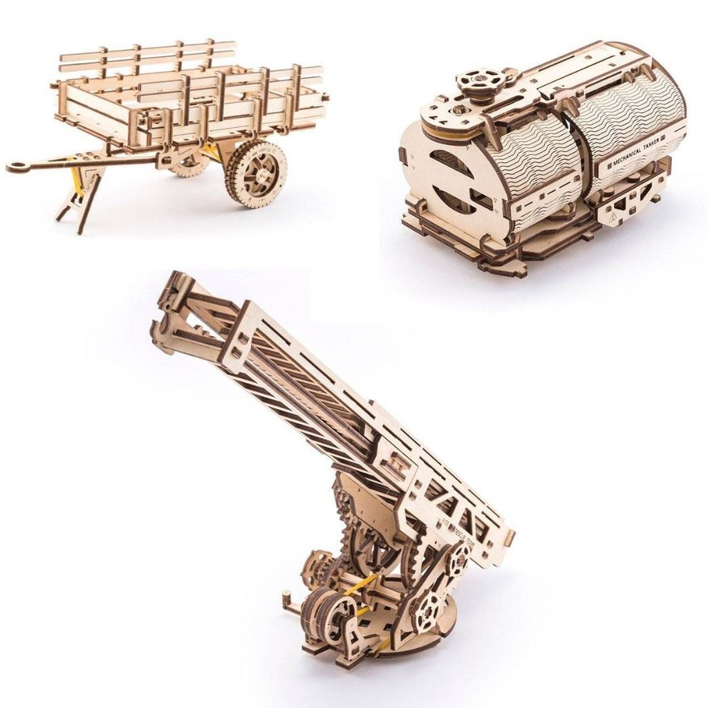 Wooden Pickup Truck 3-in-1 Additions Pack