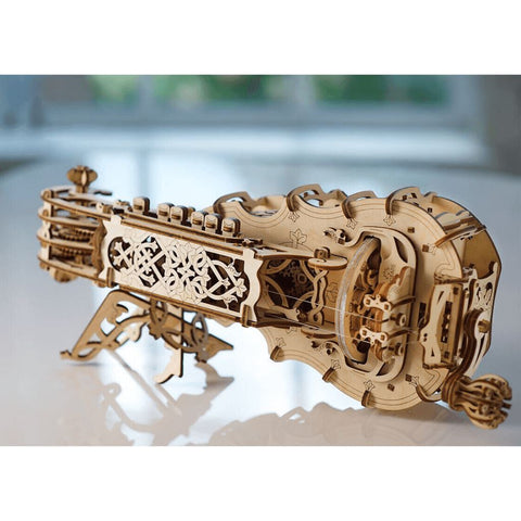 3D Puzzles Fully-Functional Hurdy-Gurdy Model
