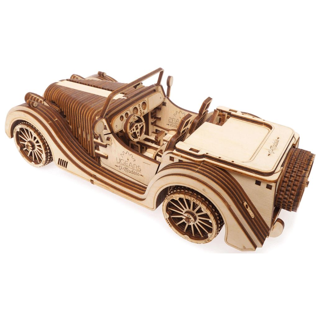 3D Puzzles Mechanical Roadster