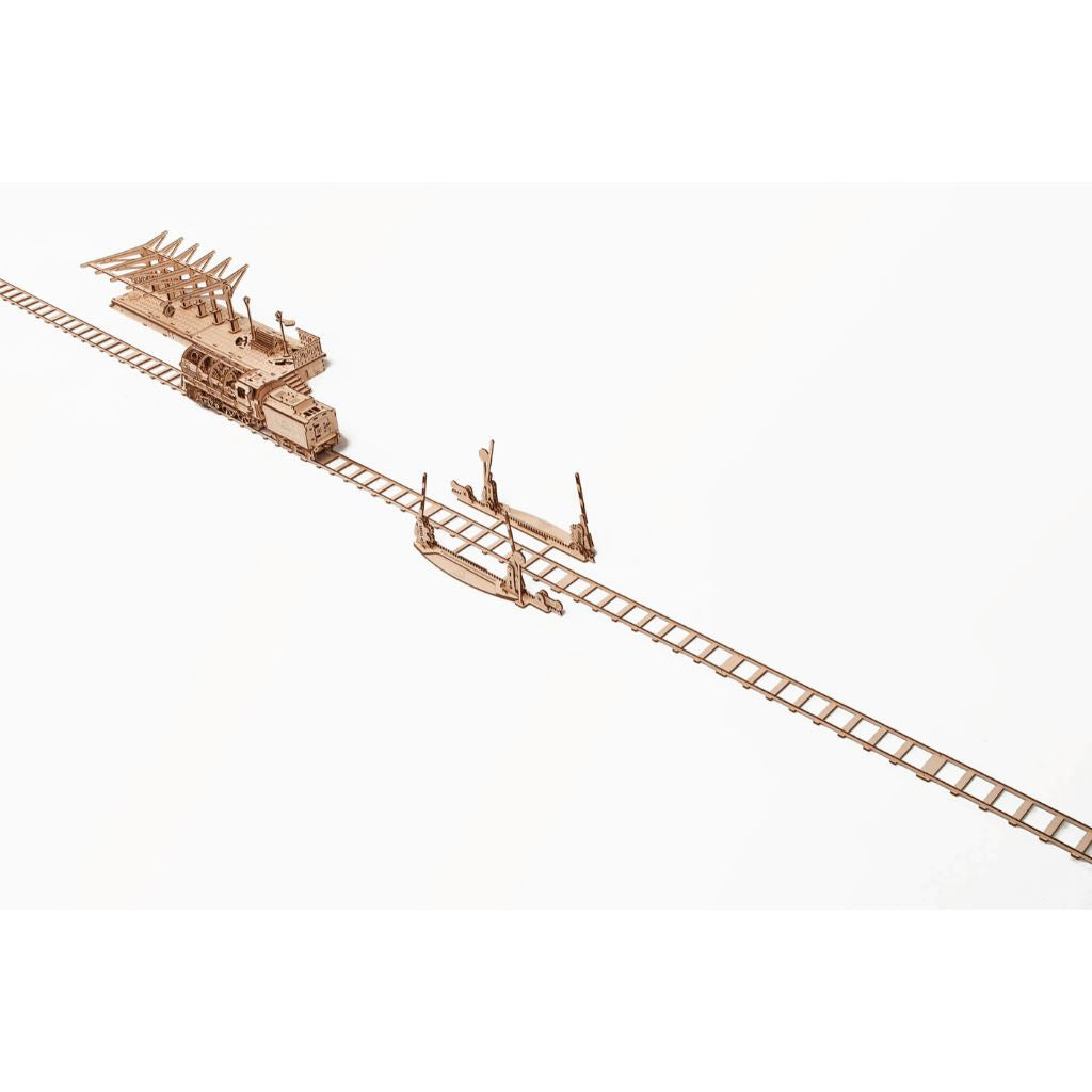 "3D Puzzles ""Big Bear"" Rails with Crossings"