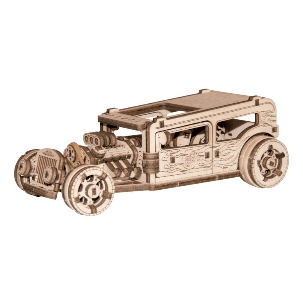 Wooden HotRod Model kit