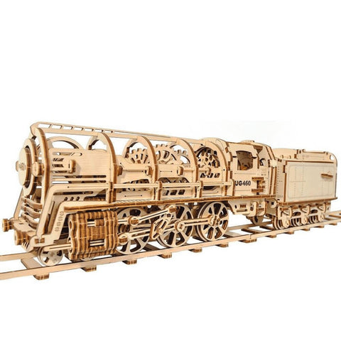 "3D Puzzles ""Big Bear"" Steam Locomotive with Tender"