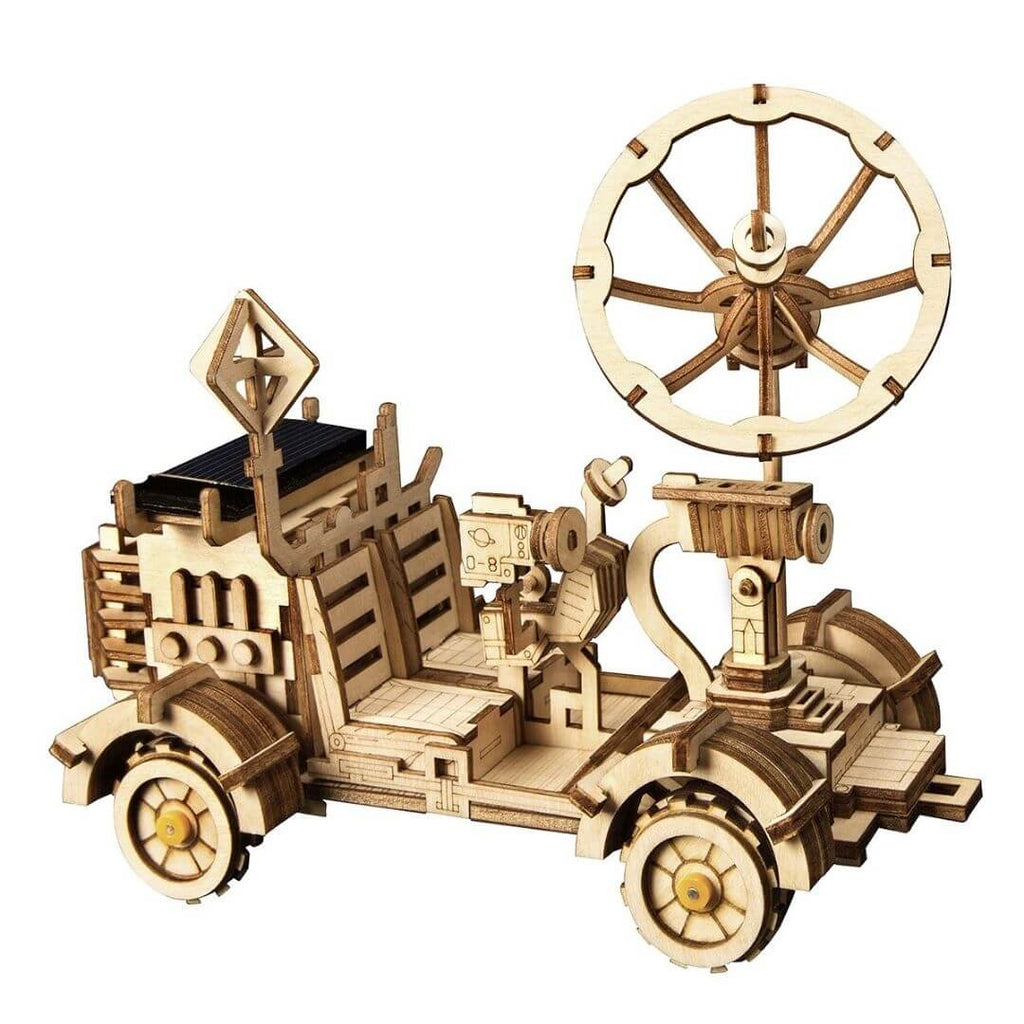 Wooden Solar Energy Moon Buggy