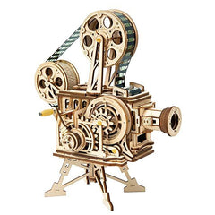 3D Wooden Model Film Projector