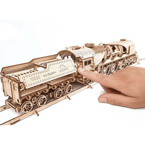 3D Puzzles Express Steam Train with Tender