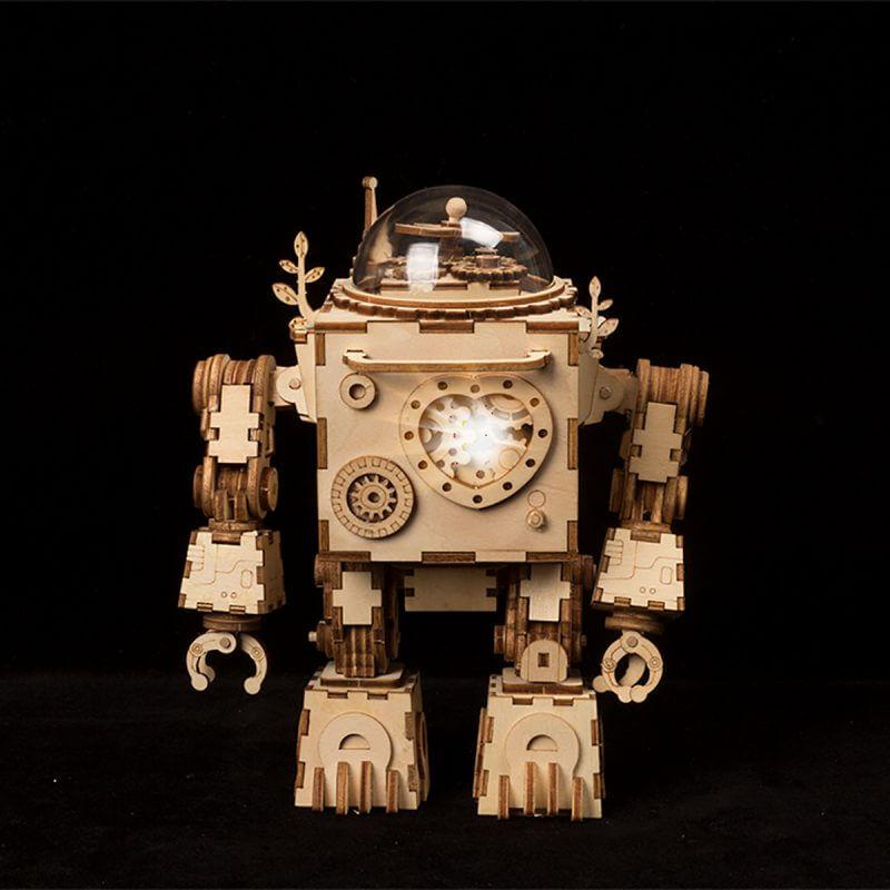 Steampunk Robot Music Box