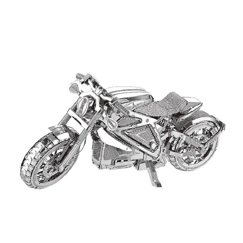 Metal Motorcycle 3D Puzzle