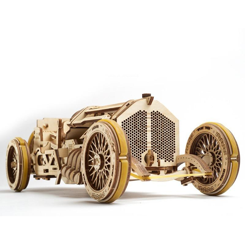 3D Puzzles Vintage Grand Prix Race Car