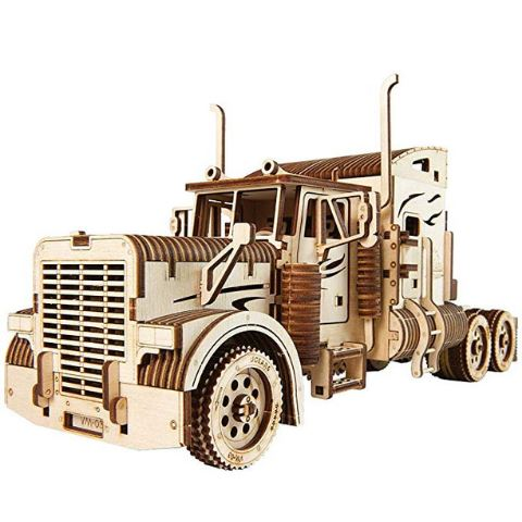 Wooden Mechanical Heavy Semi-Truck