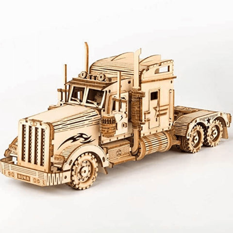 1:40 Scale Model Series: 3D Heavy Semi Truck