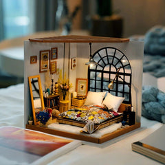 Robotime-DIY-Miniature-Dollhouse-with-Accessories-and-Furniture-Model-Building-Kits-Toys-for-Adult-DG107-
