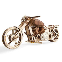 3D Puzzles Wooden Mechanical Motorcycle