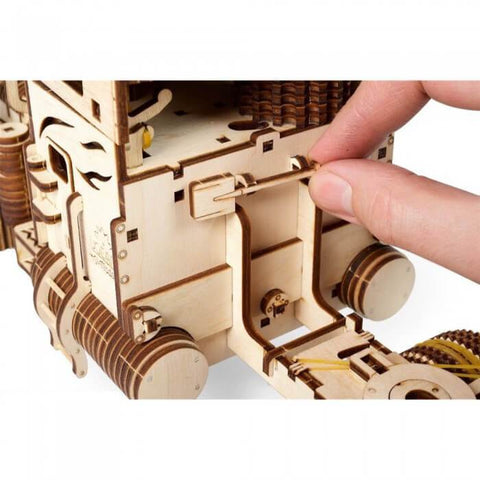 3D Puzzles Wooden Mechanical Semi-Truck