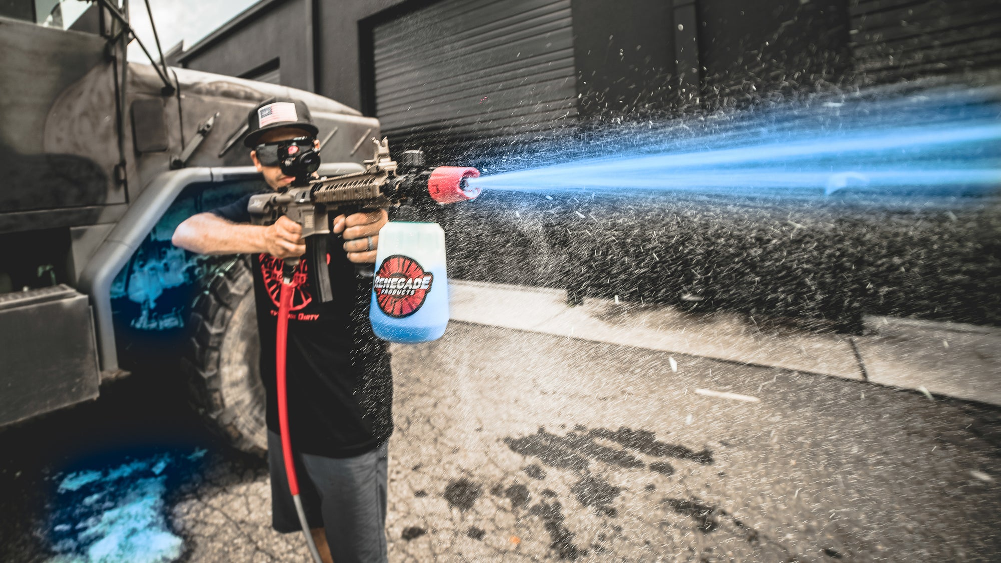 AR15 foam cannon / AR15 pressure washer wand giveaway