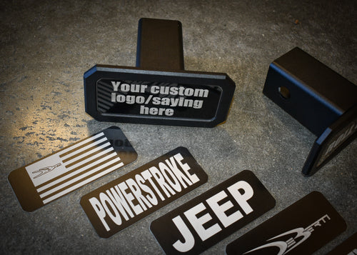Billet Tow Hitch Cover